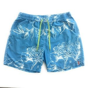 Tommy Bahama Aqua Swim Trunks, Mens XL